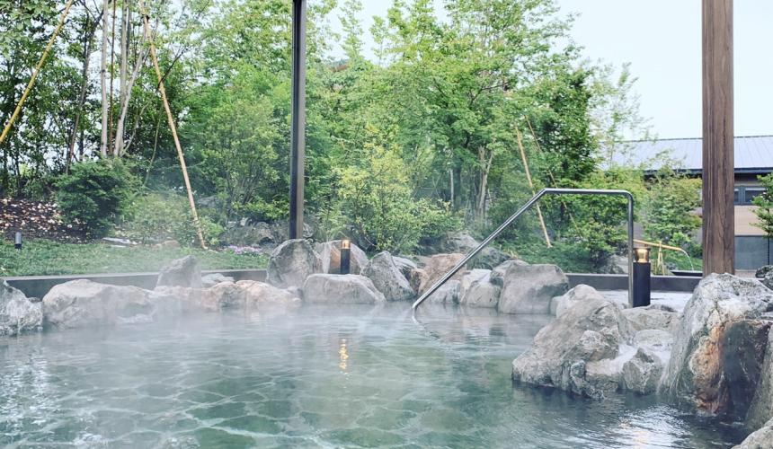 妻湯の温泉
